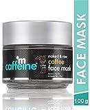 mCaffeine Naked & Raw Coffee Face Mask | Cocoa, Vitamin E | Tan