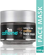 mCaffeine Naked & Raw Coffee Face Mask/Pack | Cocoa, Vitamin E | Tan Removal | Oily/Normal Skin | Paraben
