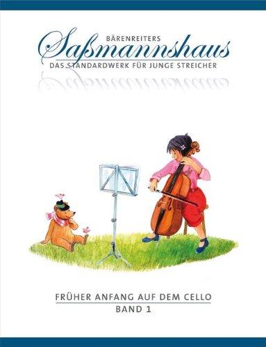 FRUEHER ANFANG AUF DEM CELLO 1 - arrangiert für Violoncello [Noten / Sheetmusic] Komponist: SASSMANNSHAUS EGON