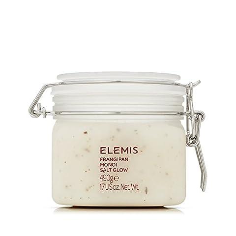 ELEMIS Frangipani Monoi Salt Glow - Skin Softening Salt Body Scrub 490g