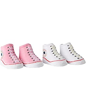 Converse Unisex - Baby Socken 2er-Pack