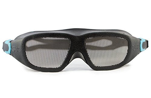 Schutzbrille mit rostfreiem Metallnetz, XL, Safe Eyes Stainless Steel Mesh No-Fog Safety Goggles