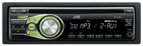 JVC KD-R332 CD Car Stereo with F...