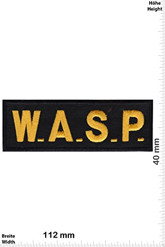 Patch-Iron-W.A.S.P. - Women Airforce Service Pilots - - Military - U.S. Air Force - Iron On Patches - Aufnäher Embleme Bügelbild Aufbügler (Airforce Womens Service Pilots)
