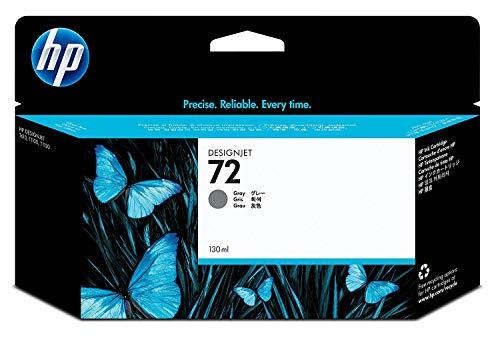HP 72 Grau Original Druckerpatrone mit hoher Reichweite (130 ml) für HP DesignJet