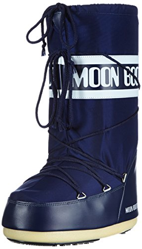 Tecnica Moon Boot Nylon, Chaussures de multisports outdoor mixte adulte Bleu (Blu)