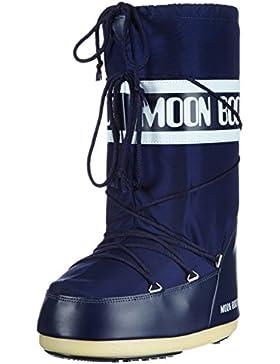 Tecnica Moon Boot Nylon, Botas de nieve Unisex adulto, Azul (Blue 2), 42-44 EU