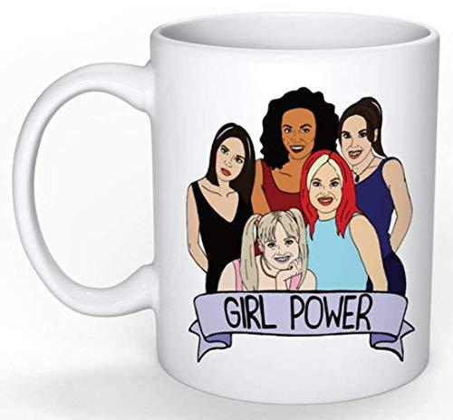 - Spice Girls Mug (Ultimate nostalgia Gift, 90s, Girl Power, Feminist Gift, Female, Posh, Baby, Scary, Sporty, Ginger Spice), 11oz Ceramic Coffee Novelty Mug/Cup, Gift-wrap Available