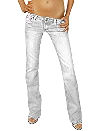 Bestyledberlin Jeans taille basse style low rise jeans pour femme j37agrau