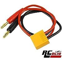 Cable de carga XT90 a banana dec 4mmm.