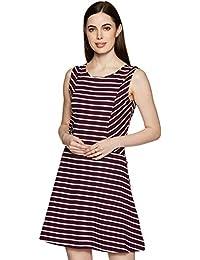 ABOF Women's A-Line Knee-Long Dress