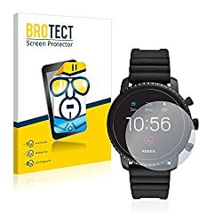 Brotect Fossil Q Explorist Hr (4.gen) Screen Protector Protection Film [2 Pack] Hd-clear
