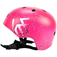 KRF The New Urban Concept Tropic Pink Casco Multideporte Skate | Patinaje | Bicicleta | Monopatin, Mujer,, M (54-58CM)