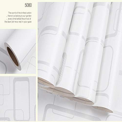 lsaiyy Selbstklebende Tapete 10 Meter lang 60cm breit einfarbig umweltfreundlich Schlafzimmer Schlafsaal romantische wasserdichte Tapete Wandaufkleber Tapete-60CMX10M -