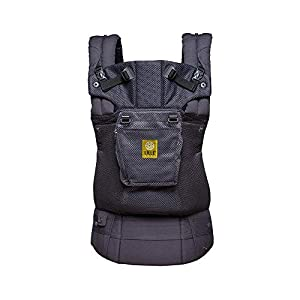 SIX-Position, 360° Ergonomic Baby & Child Carrier by LILLEbaby - The Complete Airflow (All Charcoal)   6