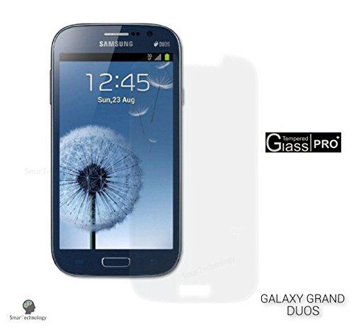 Displayschutzfolie aus gehärtetem Glas für Samsung Galaxy Grand DUOS GT-I9082 transparenter Displayschutz für Display und Touch Screen.