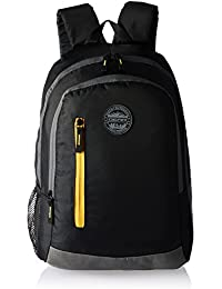 Gear 18 Ltrs Black and Yellow Backpack (BKPECOBP40112)