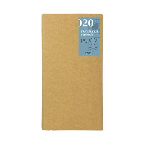 Midori Kraft File Refill Midori 020 per Traveler's Notebook Regular Size