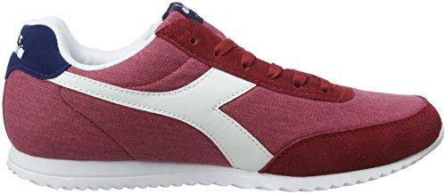 Diadora Jog Light C, Chaussures de Gymnastique Homme Rouge (Rosso Cupo)