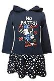 Disney Minnie Mouse Mädchen Kapuzen Kleid~Rüschenkleid~Gr. 98,104,110/116,122/128 Größe 98