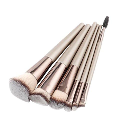 MagiDeal Kit de 6pcs Pinceaux Cosmétique pour le Visage le Nez et les Yeux - Brosse de Maquillage pour Make-up Fond de Teint Blush Fard à Joues Anti-cernes - Trés à la Mode