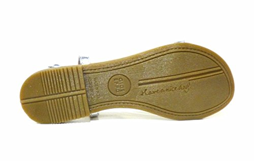 GIOSEPPO scarpe donna sandali bassi 40493-47 OCEANE Argento