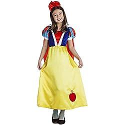 Disfraz Blancanieves para niña (5-6 años)