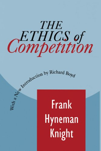The Ethics Of Competition Foundations Of Higher Education