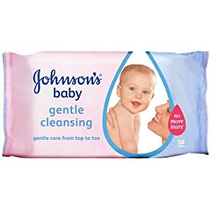Johnson's Baby gentle Cleaning 56 Wipes With Free Ayur soap