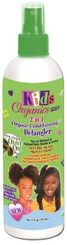 Africa's Best Kids Organics 2-in-1 Detangler, 12 Ounce by Africa's Best