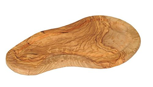 Natural Cookware - Olive Wood Serving Board with Groove - 40cm