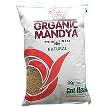 Organic Mandya FOXTAIL MILLET (NAVANE) 1000 GMS Pack of 3