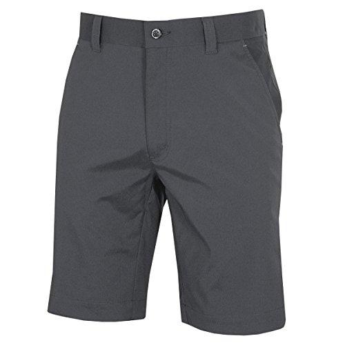 Dwyers & Co Golf Herren Micro Tech Explorer Shorts - Metal Grau - 34