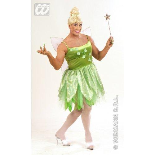 Widmann wdm5706l-Kostüm für Erwachsene Fee der Wälder, grün, XL