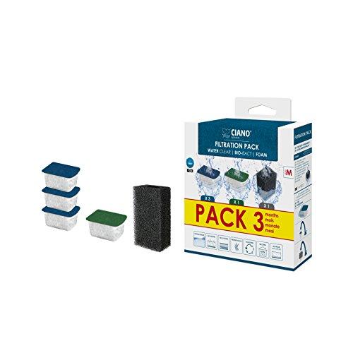CIANO Aquarium Consumables Pack 3 Mois pour...