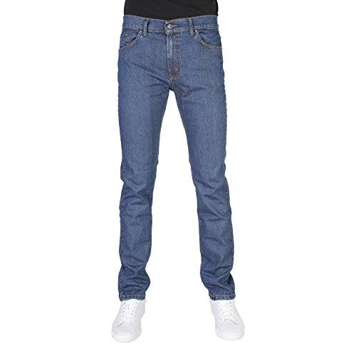 Jeans Uomo CARRERA Elasticizzato 5 Tasche Taglie 46 - 62 Art.700 / 921A ( Blu Chiaro - 54)