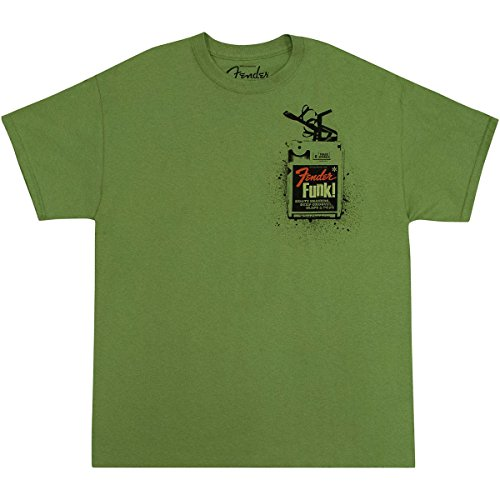 Fender T-shirt Funk Green - taglia XL