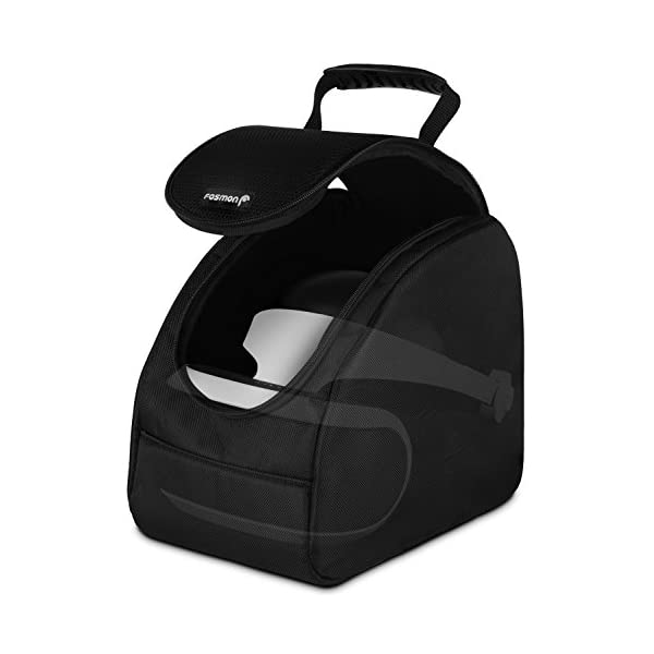 psvr carrying case, fosmon ps4 vr headset and accessories travel storage bag with adjustable dividers for playstation 4 Fosmon Carrying Case, Travel Storage Bag with Adjustable Dividers Compatible with Oculus GO/HTC Vive/PSVR Headset/Playstation VR / PS4 Virtual Reality & Accessories 41v89ohm5OL