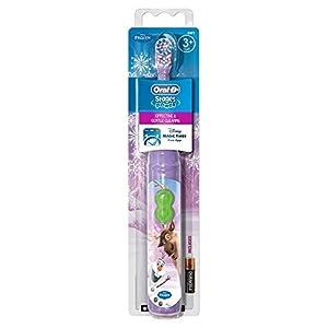Braun Oral-B Stages Power Kids Batterie-Zahnbürste Kinder 3+ Jahre Disney FROZEN die Eiskönigin + Magic Timer