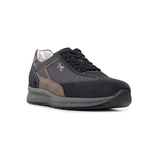 Nero Giardini , Sneakers basses homme Bleu