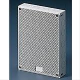 Gewiss GW42002 Quadretto con porta reversibile, superficie liscie e alveolare, 20 x 15 x 6 cm, Plastica, Bianco