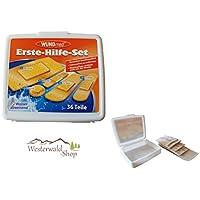 Stammartikel Wundmed Erste Hilfe Set 36 tlg in weißer Box preisvergleich bei billige-tabletten.eu