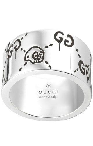 Gucci YBC455319001 Silber Unisex Ring