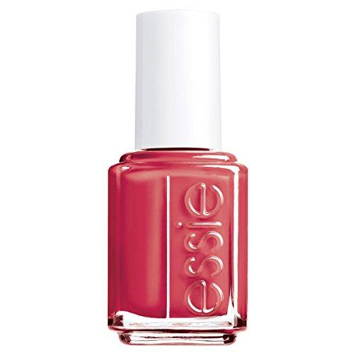 essie Nagellack Gel Effekt Helles Rot ohne UV fifth avenue 64/Ultra deckender Farblack in cremigem Orange, Rot, 1er Pack (1 x 13,5 ml)