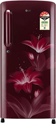 LG 190 L 4 Star Direct Cool Single Door Refrigerator(GL-B201ARGX.ARGZEBN,...