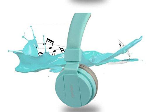 Mr. Fragile Laptop Gaming Kopfhörer Headset Kopfhörer Mikrofon,Blue