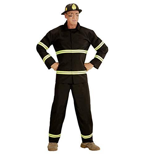 WIDMANN WDM03942 - Costume Per Adulti Pompiere, Nero, M