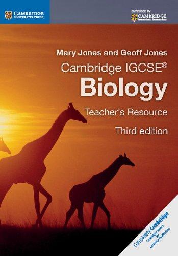 Cambridge IGCSE: Biology. Teacher's Resource (Cambridge International IGCSE)