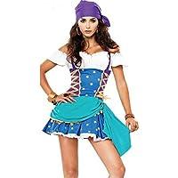 Donna Quality Gypsy Principessa Esmerelda Costume Da