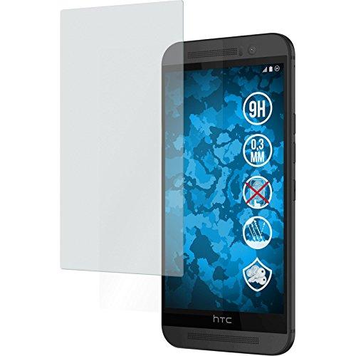PhoneNatic 2 x Glas-Folie matt kompatibel mit HTC One M9 - Panzerglas für One M9